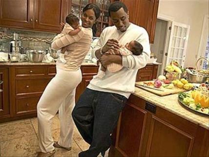"""Sean """"Diddy"""" Combs y familia"""